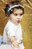 Μικρό παιδί σε έναν γάμο Στοκ εικόνα με δικαίωμα ελεύθερης χρήσης