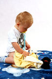 μικρό παιδί στούντιο Στοκ φωτογραφία με δικαίωμα ελεύθερης χρήσης