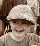 Μικρό παιδί που ψωνίζει για Στοκ Φωτογραφίες