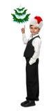 Μικρό παιδί σε ένα σμόκιν Στοκ εικόνες με δικαίωμα ελεύθερης χρήσης