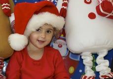 Μικρό παιδί στα Χριστούγεννα. Στοκ φωτογραφίες με δικαίωμα ελεύθερης χρήσης