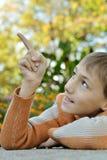 Μικρό παιδί υπαίθρια Στοκ εικόνες με δικαίωμα ελεύθερης χρήσης