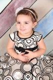 Μικρό παιδί Brunette στοκ εικόνες με δικαίωμα ελεύθερης χρήσης