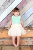 Μικρό παιδί Brunette στοκ φωτογραφία με δικαίωμα ελεύθερης χρήσης