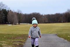 Μικρό παιδί Determind Στοκ Εικόνες