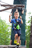Μικρό παιδί extremal Στοκ εικόνα με δικαίωμα ελεύθερης χρήσης