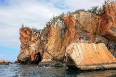 Μικρό παρεκκλησι της Μαρίας δίπλα στον ωκεανό Στοκ Εικόνες