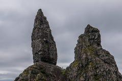 Μικρό πρόσωπο στον ηληκιωμένο Storr, Skye Στοκ Φωτογραφίες