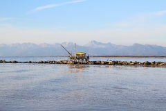Μικρό σπίτι για να αλιεύσει Στοκ φωτογραφία με δικαίωμα ελεύθερης χρήσης