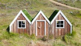 Μικρό σπίτι νεραιδών παιχνιδιών στην Ισλανδία Στοκ Εικόνες
