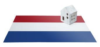 Μικρό σπίτι σε μια σημαία - Κάτω Χώρες Στοκ φωτογραφίες με δικαίωμα ελεύθερης χρήσης