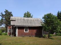 Μικρό σπίτι στο δάσος Στοκ Εικόνες