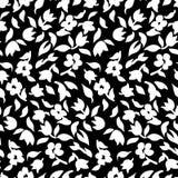 Μικρό σχέδιο 002 λουλουδιών Στοκ Εικόνα