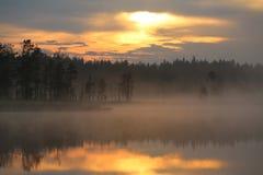 Μικρό τοπίο ώρας Στοκ φωτογραφίες με δικαίωμα ελεύθερης χρήσης
