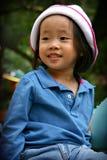 μικρό χαμόγελο παιδιών Στοκ Φωτογραφίες