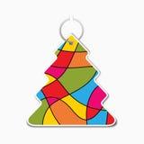 Μικρό χρωματισμένο ευώδες δέντρο απεικόνιση αποθεμάτων