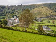Μικρό χωριουδάκι στο Camino - Linares στοκ εικόνα με δικαίωμα ελεύθερης χρήσης