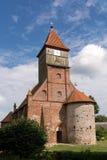 μικρό χωριό εκκλησιών Στοκ Εικόνα