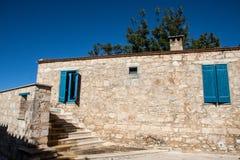 Μικρό χωριό της Κύπρου Στοκ φωτογραφία με δικαίωμα ελεύθερης χρήσης