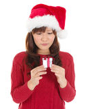 Μικρό δώρο Χριστουγέννων Στοκ Φωτογραφίες