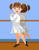 Μικρό ballerina Στοκ εικόνες με δικαίωμα ελεύθερης χρήσης