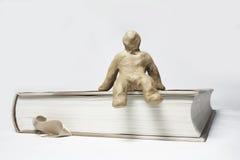 μικρό plasticine ατόμων Στοκ εικόνες με δικαίωμα ελεύθερης χρήσης