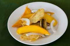 Μικτά αφυδατωμένα φρούτα Στοκ Εικόνα