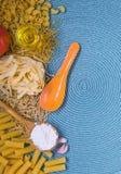 Μικτά ζυμαρικά Στοκ εικόνα με δικαίωμα ελεύθερης χρήσης