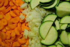 Μικτά και λαχανικά περικοπών στοκ φωτογραφία με δικαίωμα ελεύθερης χρήσης