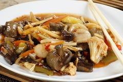 Μικτά κινεζικά λαχανικά Στοκ εικόνα με δικαίωμα ελεύθερης χρήσης