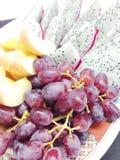 Μικτά ταϊλανδικά φρούτα Στοκ φωτογραφία με δικαίωμα ελεύθερης χρήσης