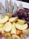 Μικτά ταϊλανδικά φρούτα Στοκ φωτογραφίες με δικαίωμα ελεύθερης χρήσης