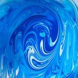 Μικτά χρώματα - μπλε και λευκό Στοκ Φωτογραφίες