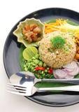 μικτές γαρίδες ρυζιού συ Στοκ Φωτογραφία