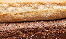 Μικτή κινηματογράφηση σε πρώτο πλάνο ψωμιών Στοκ Εικόνες