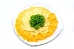 Μικτή πιατέλα γευματιζόντων τυριών από διαφορετικό στοκ φωτογραφία με δικαίωμα ελεύθερης χρήσης