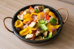 Μικτή Brasied σαλάτα πιπεριών Στοκ Εικόνες