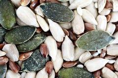 Μικτοί σπόροι ως υπόβαθρο τροφίμων Στοκ Εικόνα