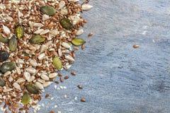 μικτοί σπόροι Στοκ εικόνα με δικαίωμα ελεύθερης χρήσης
