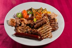 Μικτό κρέας Στοκ Εικόνες