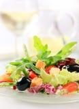 μικτό λαχανικό σαλάτας στοκ εικόνα