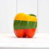 Μικτό πιπέρι λαχανικών φρούτων Στοκ φωτογραφία με δικαίωμα ελεύθερης χρήσης