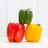 Μικτό πιπέρι λαχανικών φρούτων Στοκ Εικόνες