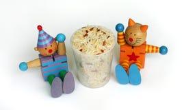 μικτό υγεία ρύζι σιταριού τ& Στοκ εικόνες με δικαίωμα ελεύθερης χρήσης