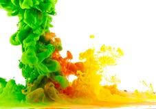Μικτό χρωματισμένο υγρό 2 στοκ φωτογραφία με δικαίωμα ελεύθερης χρήσης