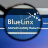 Μιλάνο, Ιταλία - 10 Αυγούστου 2017: Μπλε λογότυπο μετοχών Linx στο W Στοκ φωτογραφίες με δικαίωμα ελεύθερης χρήσης