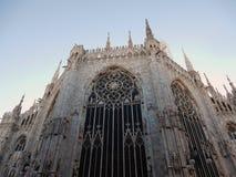 Μιλάνο - Apse του Duomo στοκ εικόνα