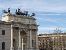 Μιλάνο: Arco ρυθμός della Στοκ Εικόνα