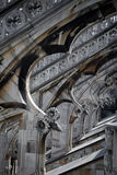 Μιλάνο - Duomo από τη στέγη Στοκ Εικόνες