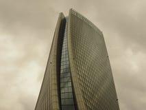 ΜΙΛΑΝΟ, ΙΤΑΛΙΑ, στις 15 Απριλίου 2018 - φωτογραφία στη νέα ζωή ` πόλεων περιοχής ` σύνθετη στη θέση 3 Torri Μιλάνο, πύργος Hadid  Στοκ φωτογραφία με δικαίωμα ελεύθερης χρήσης